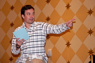 Jimmy Fallon Won $1,400 in Bets His First Night Hosting The Tonight Show