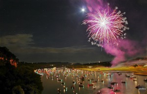 places to view july 4 fireworks
