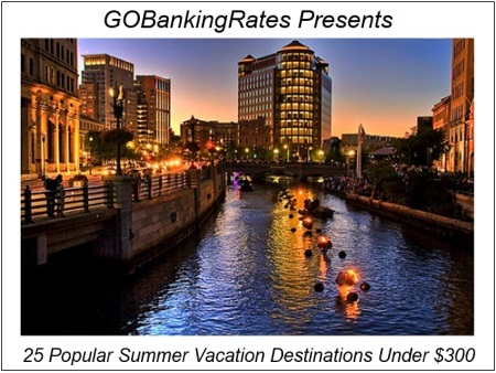 Providence Ranks Among Top 10 Cities for Affordable Summer Travel