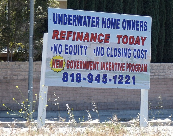 Today's Amazing Refinance Rates Are Out of Reach for Most Underwater Mortgage Holders