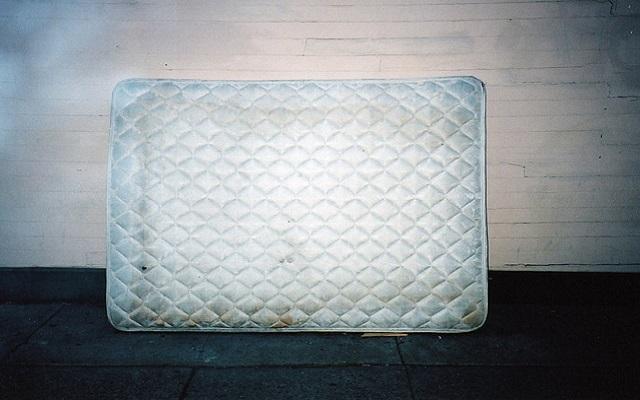 saving money in a mattress