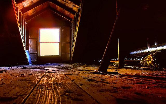 saving money in the attic