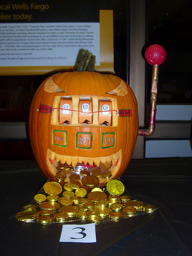 slot machine pumpkin