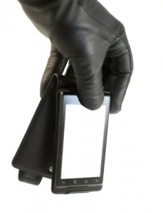 smart phone identity theft