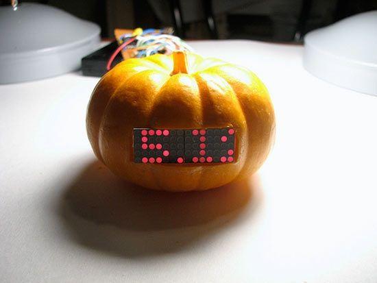 stock ticker pumpkin