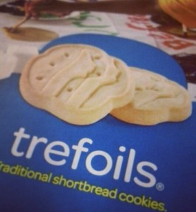 trefoils shortbread cookies