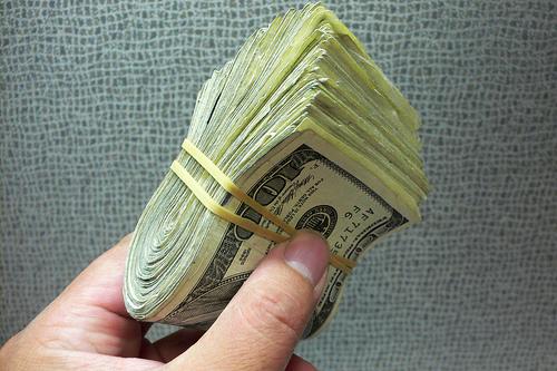 using cash