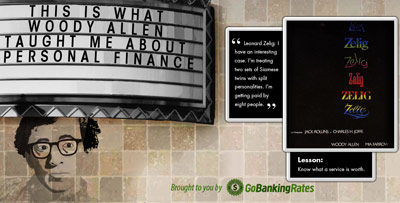 Personal Finance Lessons from Woody Allen Movies
